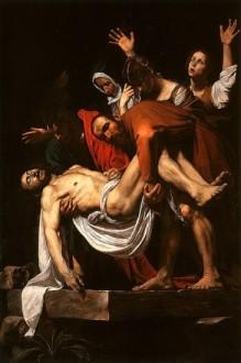 Jesus is entombed