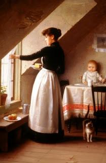 at the kitchen window by de scott evans