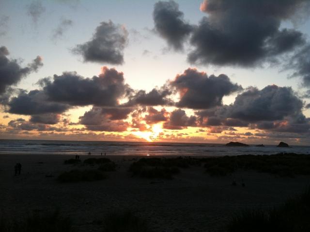 Cascade Head, Oregon @ sunset